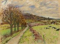 Paul Maze Rain Coming West Sussex