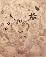 Anne Redpath (1895-1965) ARA ARWS OBE RSA Vase of Flowers