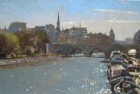David Sawyer RBA Rive Gauche - Towards Notre Dame