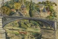 Paul Maze River Village, France