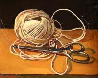 Luke Martineau Scissors and String
