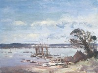 Edward Seago Pinmill, Suffolk