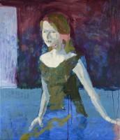 David Storey Simone (the artist's wife)