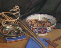 Luke Martineau Still Life with Anglesey Bowl