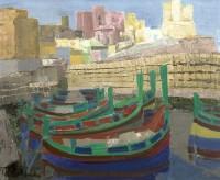Margrete Marks (1899-1990) St Pauls Bay, Malta