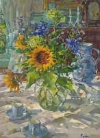 Susan Ryder RP NEAC Sunflowers