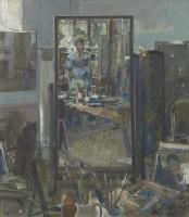 Tom Coates Self Portrait in the Studio