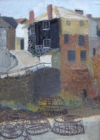 Margrete Marks (1899-1990) The Black Cottage Newlyn