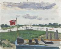 Paul Maze The Estuary at Bosham