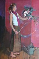 Luke Martineau Tying the Bouquet