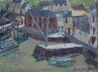 Margrete Marks (1899-1990) Cornish Harbour II