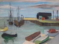 Margrete Marks (1899-1990) Harbour