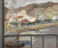 Grete Marks (1899-1990) View from Window, Puerto de la Selva