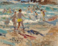 Alexander Galt RGI (1913-2000) The Water's Edge