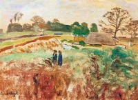 Carel Weight (1908-1997) CH LG RA RBA RWA A Walk in the Country