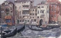 William Wilson OBE RSA RSW Venice Canal