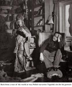 Feliks Topolski RA (1907-1989) photograph