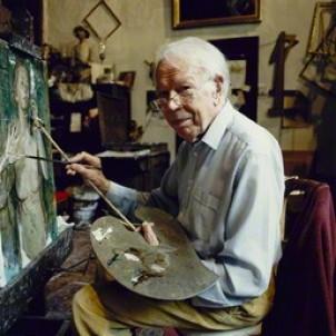 John Stanton Ward RA RWS RP NEAC CBE RA (1917-2007) photograph