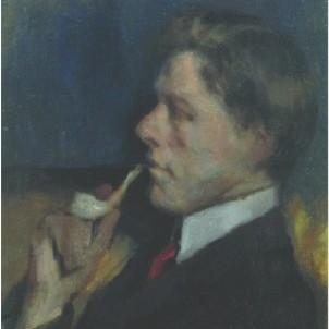 Francis Campbell Boileau Cadell (1883-1937) RSA photograph